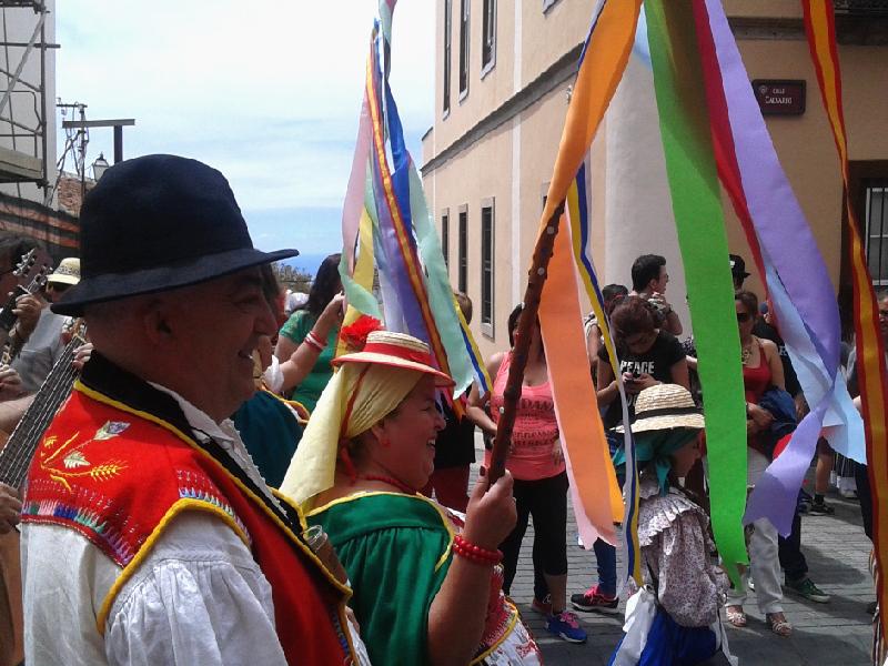 Romería de San Isidro Labrador | La Orotava | Varas