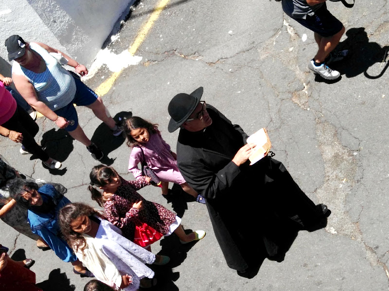 Día de las Tradiciones | Chirche | Guía de Isora | Tenerife | El cura