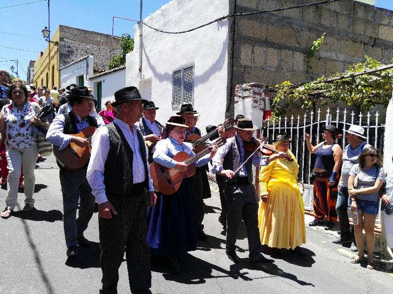 Día de las Tradiciones | Chirche | Guía de Isora | Tenerife | La parranda