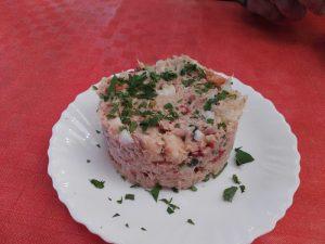 Guachinche La Huerta de Ana y Eva | La Matanza de Acentejo | Comer en Tenerife | Ensaladilla rusa