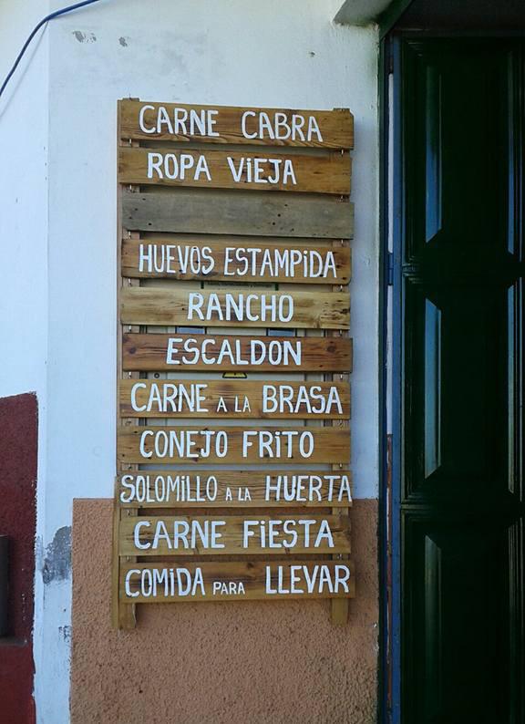Guachinche La Huerta de Ana y Eva | La Matanza de Acentejo | Comer en Tenerife | Entrada