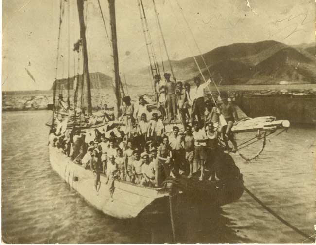 Emigración clandestina en Canarias