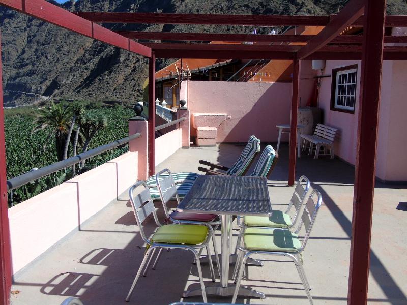 Guía de La Gomera | Apartamentos Playa | Santa Catalina | Hermigua | Azotea