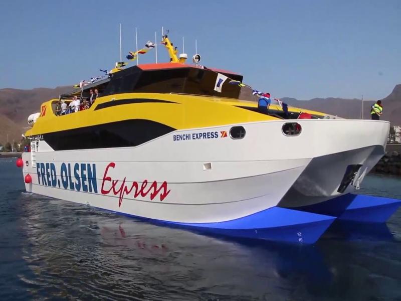Guia de La Gomera | Barco Benchi Express | Fred Olsen