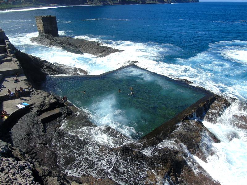 Guía de La Gomera | Piscina de Santa Catalina | Hermigua