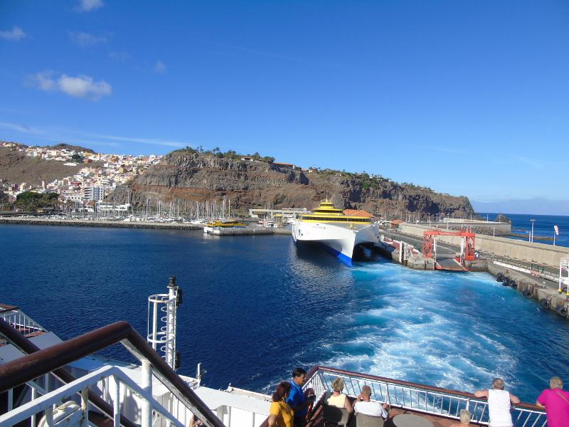 Guía de La Gomera | Puerto de San Sebastián de La Gomera