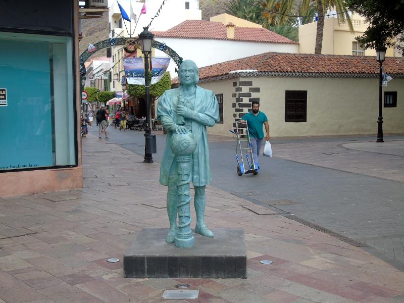 Guía de La Gomera | San Sebastián de La Gomera | Cristóbal Colón