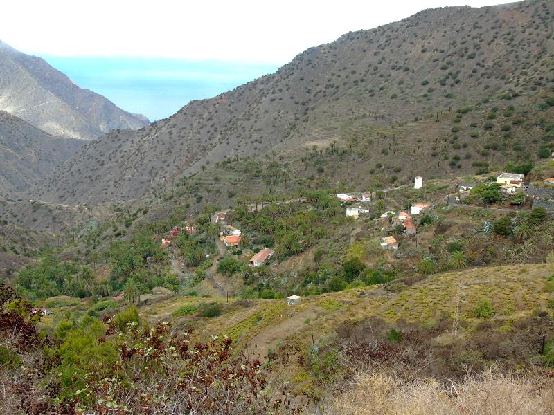 Guía de La Gomera | Valle de Vallehermoso