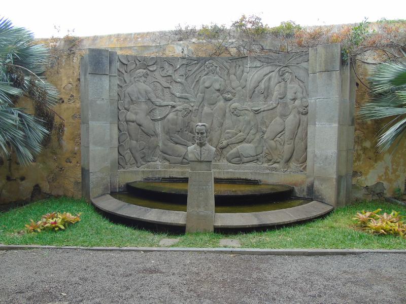Jardín Botánico | Puerto de la Cruz | Tenerife | Islas Canarias | Escultura de Alonso de Nava y Grimón