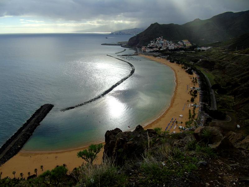 Mirador de la playa de Las Teresitas | Santa Cruz de Tenerife | Atardecer