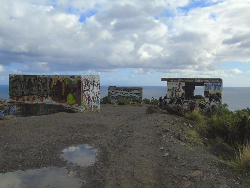 Mirador de la playa de Las Teresitas | Santa Cruz de Tenerife | Ruinas