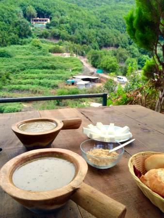 Parque Nacional de Garajonay | La Gomera | El Cedro | Camping-Restaurante La Vista | Potaje de berros