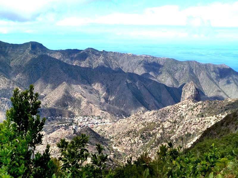 Parque Nacional de Garajonay | La Gomera | Mirador de Vallehermoso