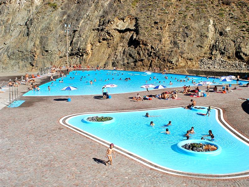 Playas para relajarse en La Gomera | Parque Marítimo de Vallehermoso | La Gomera | Islas Canarias