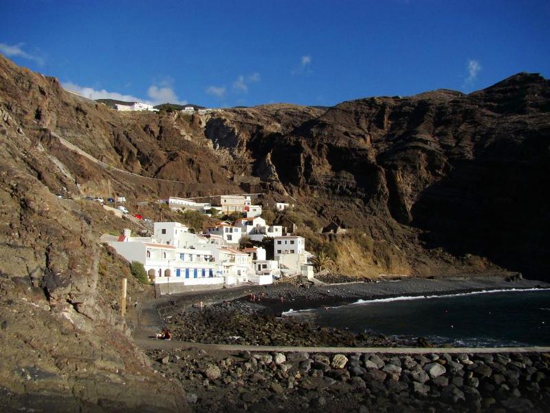 Playas para relajarse en La Gomera | Playa de Alojera | Vallehermoso | Islas Canarias