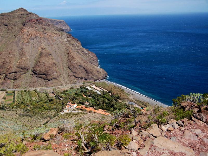 Playas para relajarse en La Gomera | Playa de Avalos | San Sabastián de La Gomera