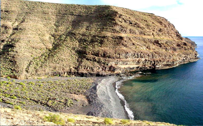 Playas para relajarse en La Gomera | Playa de La Negra | Alajeró | Islas Canarias