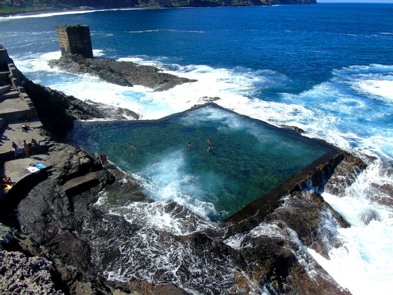 Playas para relajarse en La Gomera | Piscina Natural de Santa Catalina | Hermigua | La Gomera | Islas Canarias