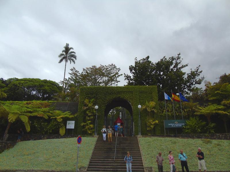 Puerto de la Cruz | Jardín Botánico | Tenerife | Islas Canarias | Entrada