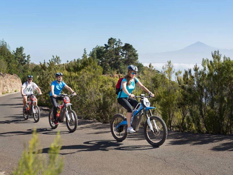 Tour en Bicicleta Eléctrica | Playa Santiago | La Gomera | Islas Canarias
