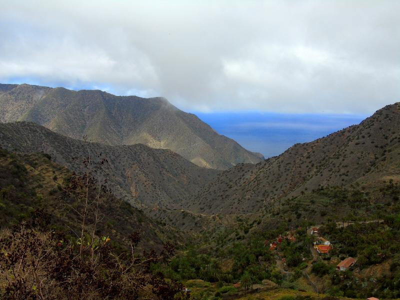 Qué ver en La Gomera | Valle de Vallehermoso