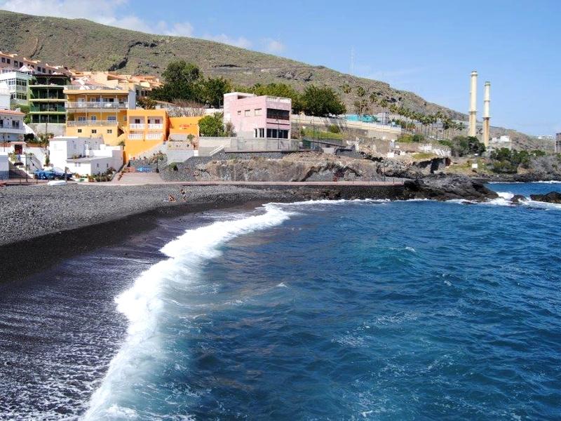 Playa de Las Caletillas | Candelaria | Tenerife | Central térmica