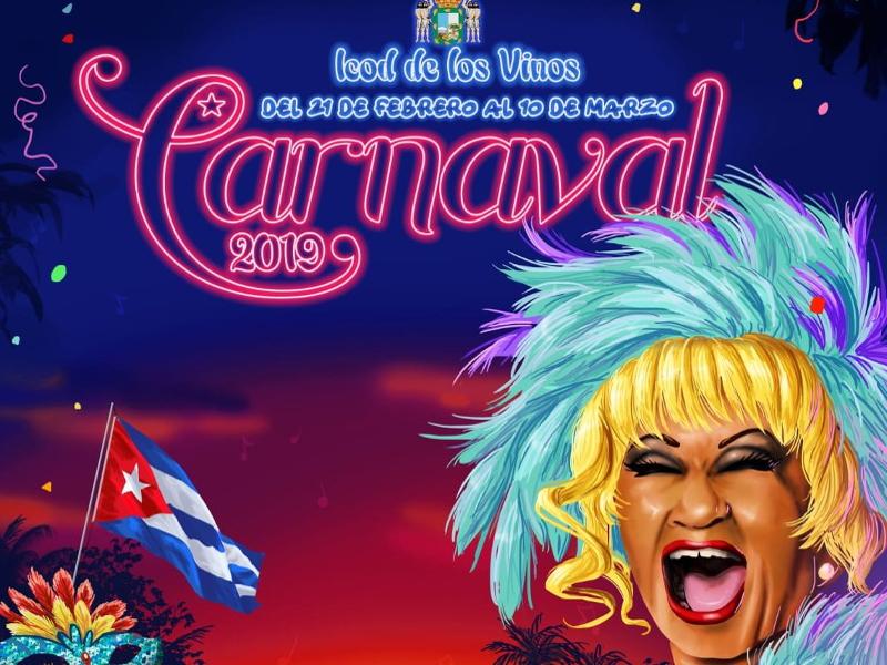 Carnaval Icod de los Vinos 2019 | Tenerife | Cartel