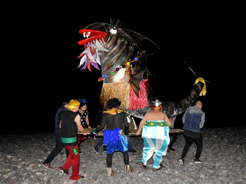 Carnaval de La Caleta de Interián | Tenerife | Quema del Sargo