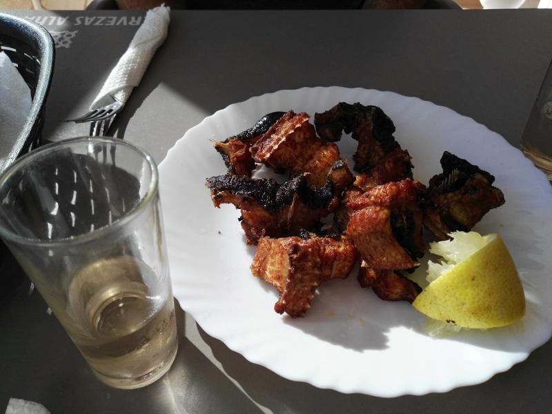 Restaurante El Chicharro | Piedra Hincada | Guía de Isora | Tenerife | Morena frita