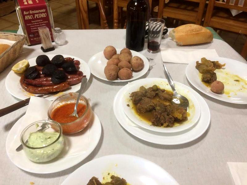 Restaurante Hermano Pedro | Ifonche | Tenerife | Menú