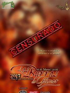 Las Burras de Güímar | Cartel censurado 2017