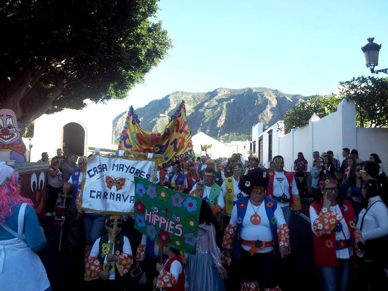 Carnaval de Buenavista del Norte | Coso