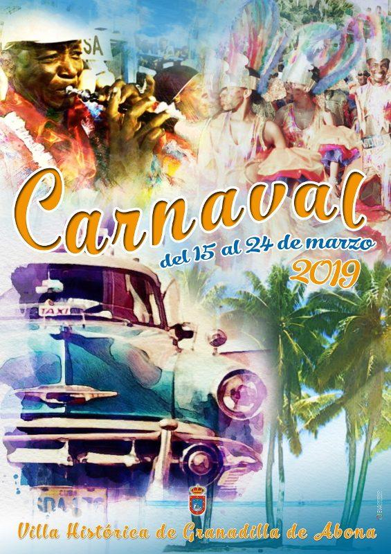 Carnaval de Granadilla de Abona 2019 | Cartel