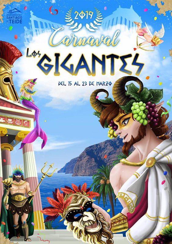 Carnaval de Los Gigantes | Cartel