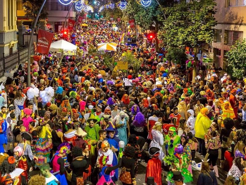 Carnaval de Santa Cruz de Tenerife | Noche