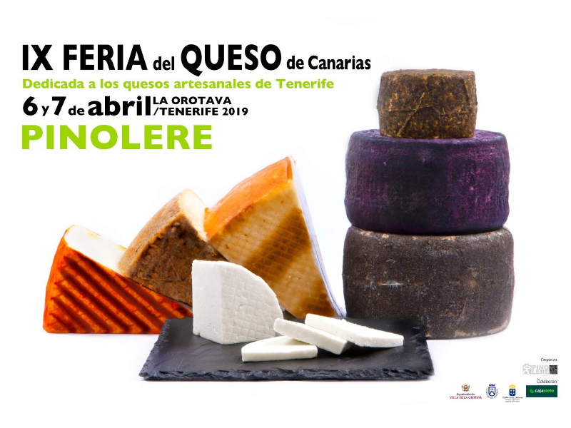 9ª Feria del Queso de Pinolere | 2019 | Cartel