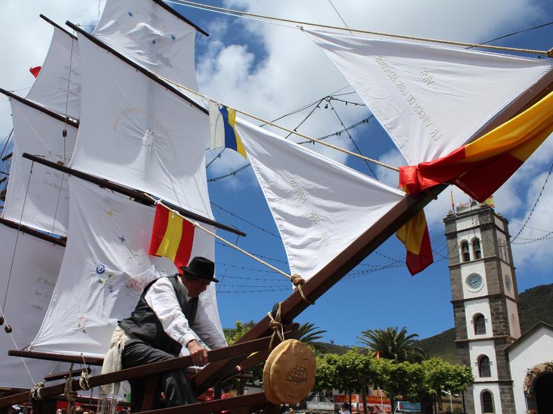 Romería de San Marcos | Tegueste | Barcos