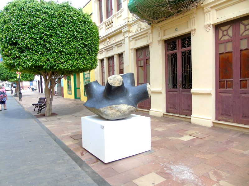 San Sebastián de La Gomera | Calle Real | Escultura