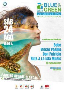 ARN Arona Blue & Green Festival | Arona | Cartel