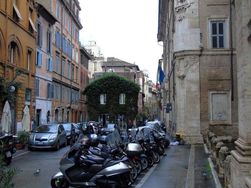 Barrios con encanto de Roma
