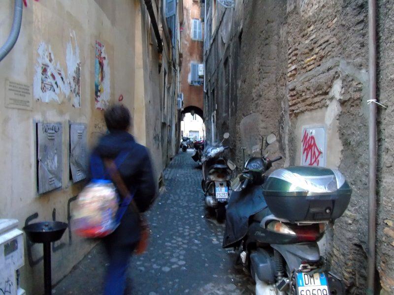 Callejear por Roma