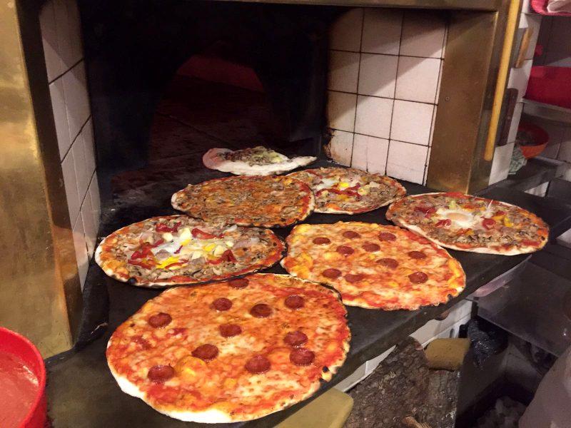 Pizzerías en Roma