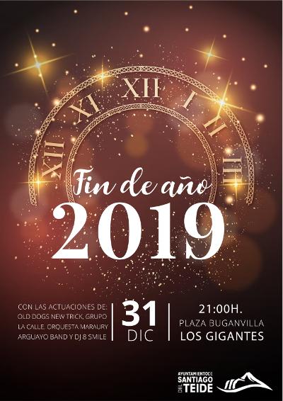 Fin de Año 2019 Los Gigantes