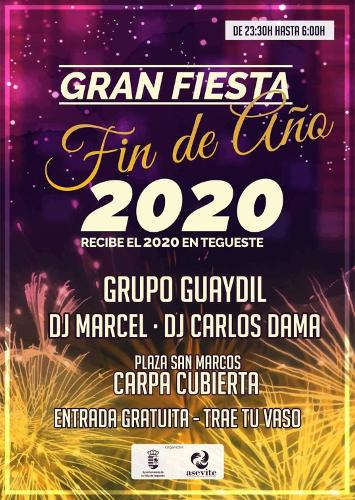 Fin de Año 2019 en Tegueste
