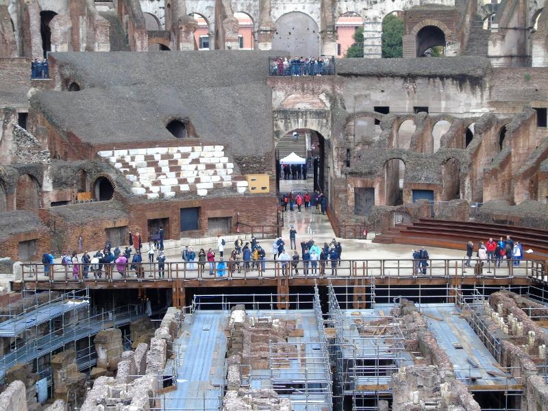 Visitas guiadas en el Coliseo