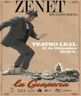 Concierto Zenet en Teatro Leal