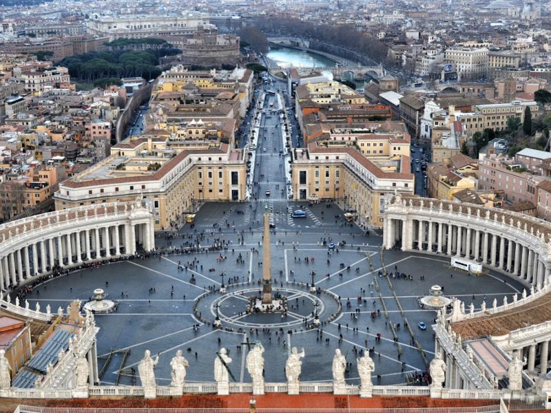Subir a la Cúpula del Vaticano