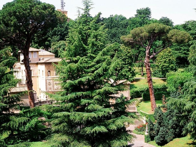 Visitar los Jardines Vaticanos