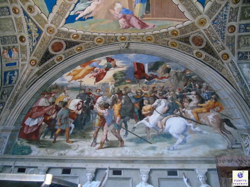 Pintura en el Vaticano
