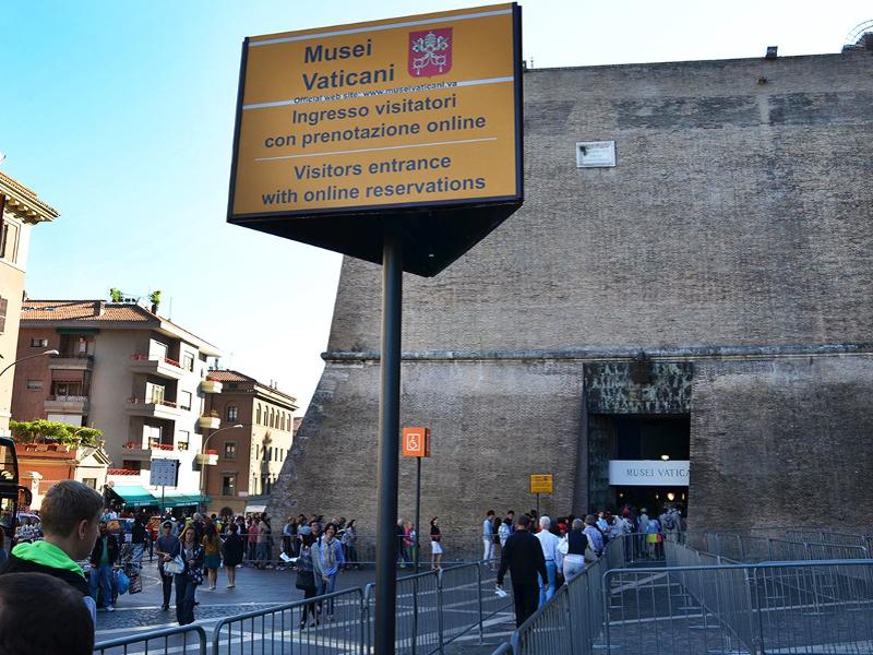 Entrada sin cola a los Museos Vaticanos